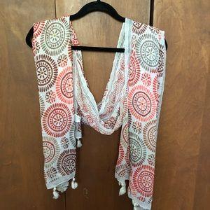 Loft pattern scarf